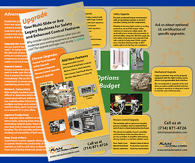 Trifold Mailer Brochure
